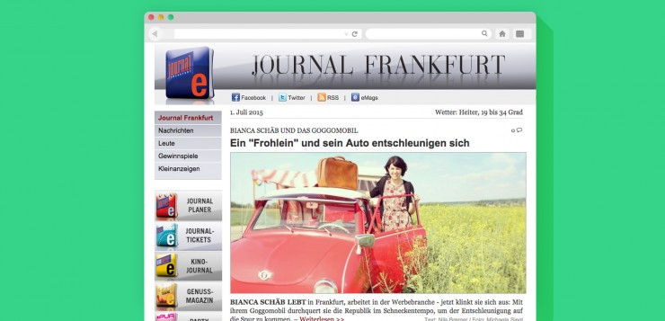 Artikel Journal Frankfurt