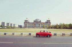 Berlin Reichstag Goggomobil