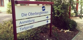 Ohne Überholspur in die Oberbergklinik